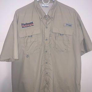 Columbia Men's Omni Shade PFG Shirt Button Up